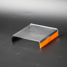 Wholesale Clear View Acrylic Sunglasses U Display Stand Glasses Stand Holder For 1 Pair