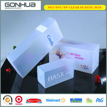 Hot selling eco-friendly custom printing translucent plastic foldable frost pp box