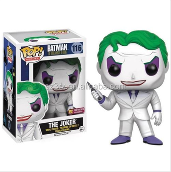 kids gift toy custom your own design funko pop manufacturers/custom hot movie character joker figurines action figurine