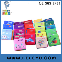 baby soft cloth fabric book for infant educational toys