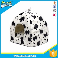 Newest Model Portable Polyester Double Dog House