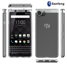 For Blackberry KEYone Mercury Case,Transparent TPU Bumper Mobile Phone Cover Case