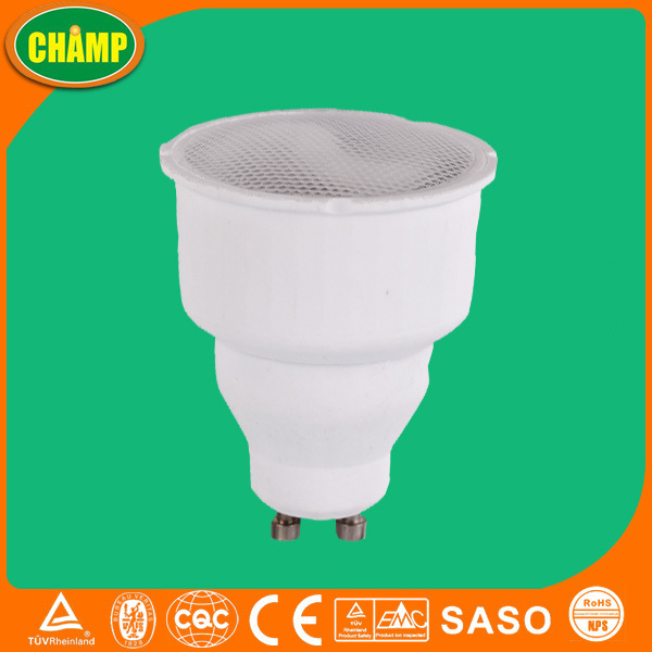 9W T2 Gu10 Fluorescent Lamp Parts CFL Price