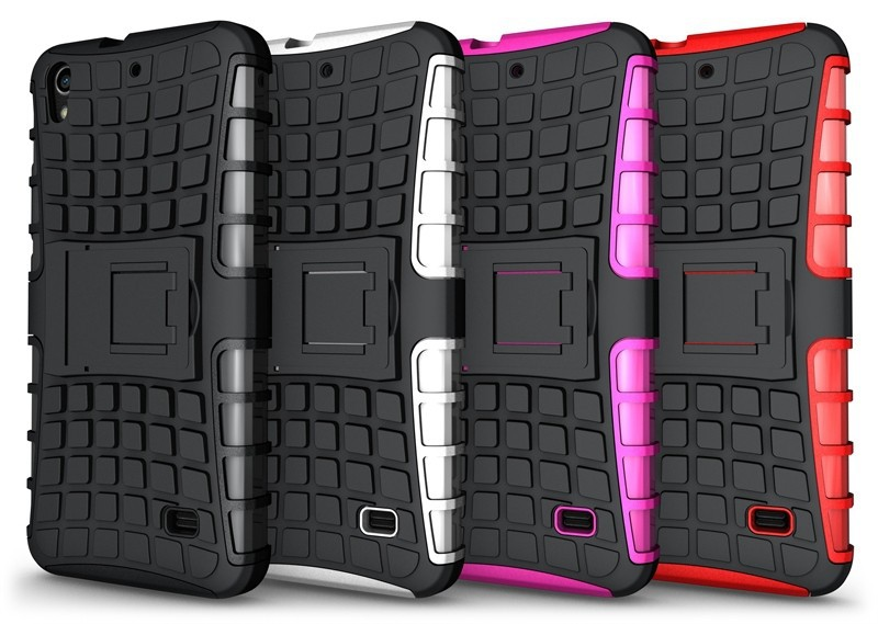wholesale !! Heavy Duty tough KickStand case armor for Huawei Ascend G620s
