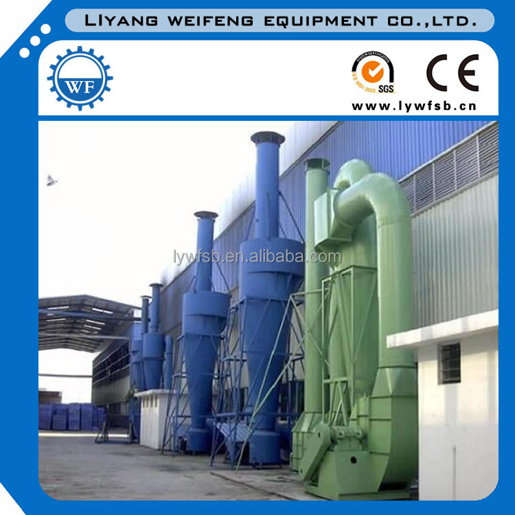 CLK cyclone separator price, multi-tubes cyclone dust collector