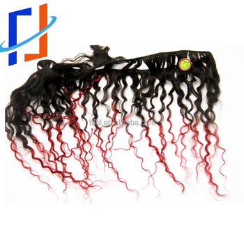 kinky curly hair 8pcs/pack 300gram Brazilian Hair Extension