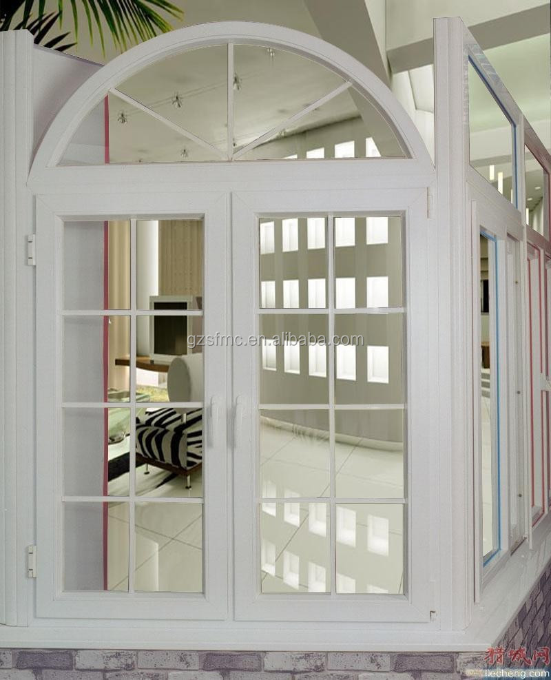 White colour Sliding Door with grills ISO9001:2015