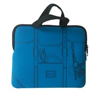 High grade portable neoprene laptop bag
