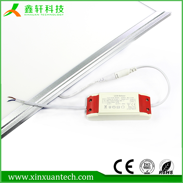 high quality battery powered led panel light 48w with LED Driver