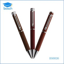 New product distributor wanted metal ball point pen leather marking pen