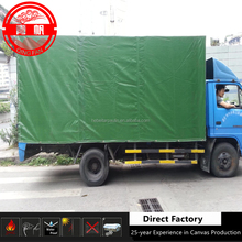 420gsm 0.3mm thickness Various Color Water Proof Glossy PVC Knife Coated Tarpaulin Truck Trailer Cover