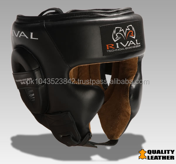 Genuine Leather Boxing Head Guard