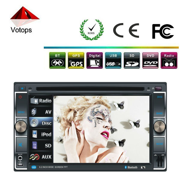 special car dvd with GPS / Bluetooth/ AM/FM radio/TV