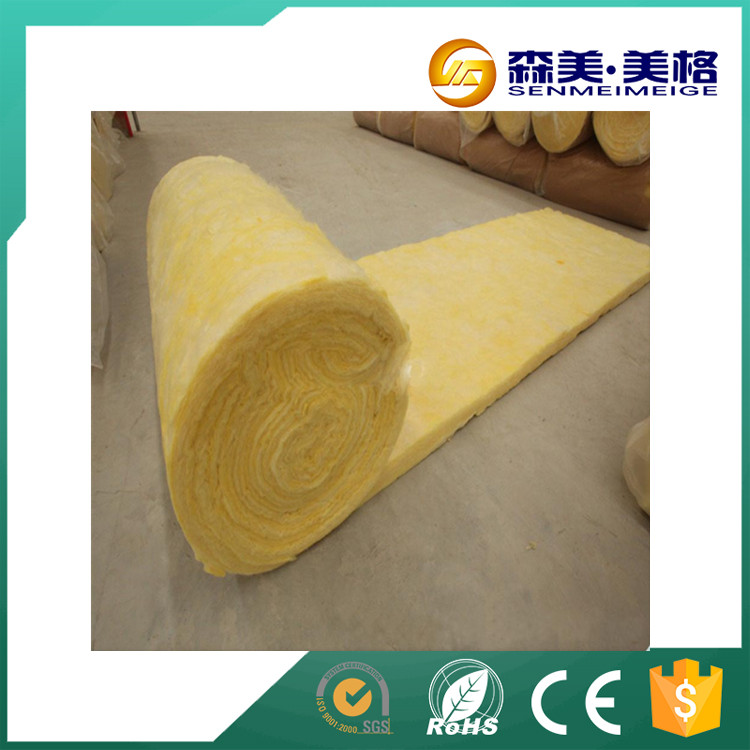 China manufacturers non-combustible energy saving fire-proof insulation glass wool