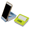 plastic dispenser phone holder with sticky pad