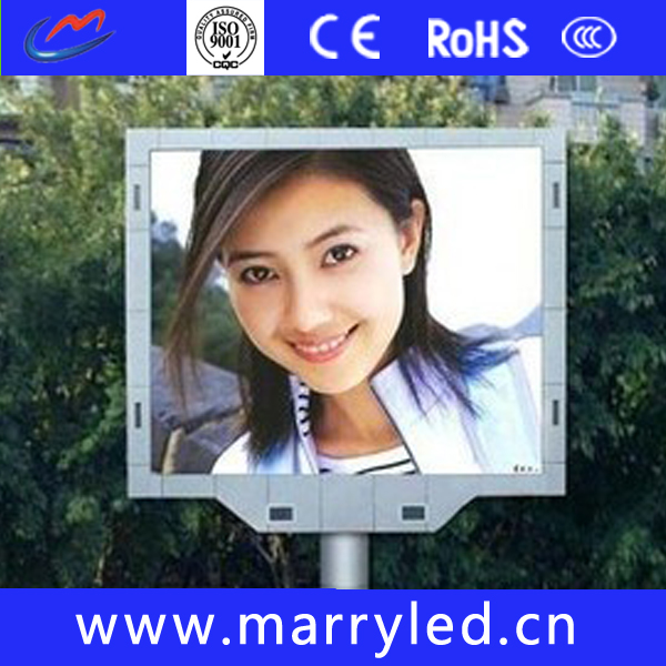 New design large view angle p6 outdoor full color led screen display led video display
