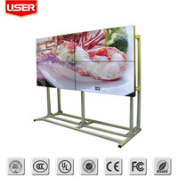 "With Imported original Korea LG DID panel 55"" tiled lcd advertising product with advertising video display"