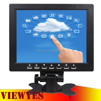 8 inch 1024*768 Resolution Touch Screen Monitor LED Monitor with Resistive Touch Panel