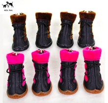 Fantastic Waterproof winter Pet shoes Dog Boots for Various Size Dogs