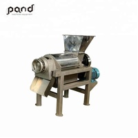 Commercial fruit vegetable tomato juicer/ Screw press juicer making machine