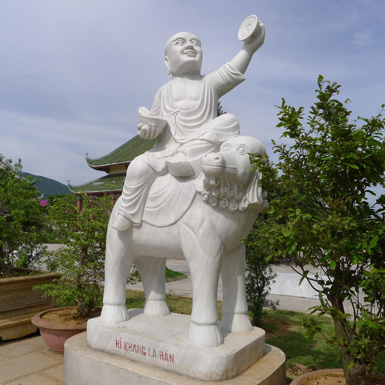 garden decoration stone carving guanyin vietnam marble sculptures