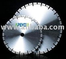 Laser Welded Saw blade for Very Abrasive Refractory MgO