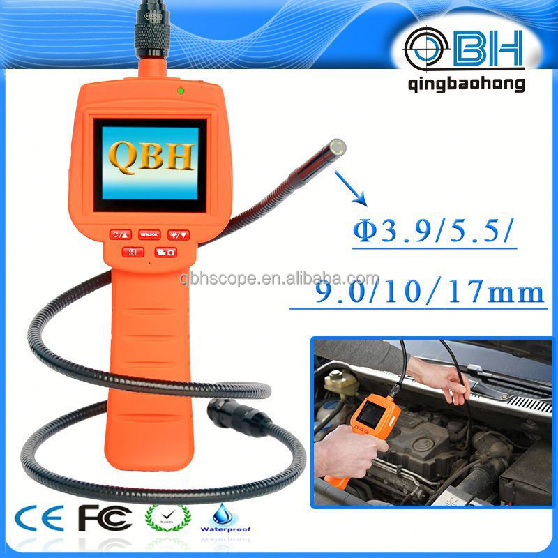 Mini pipe inspection camera 3.9 mm diameter for small pipelines