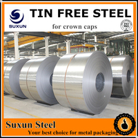 CHINESE factory price/ tin free steel FOR CANS