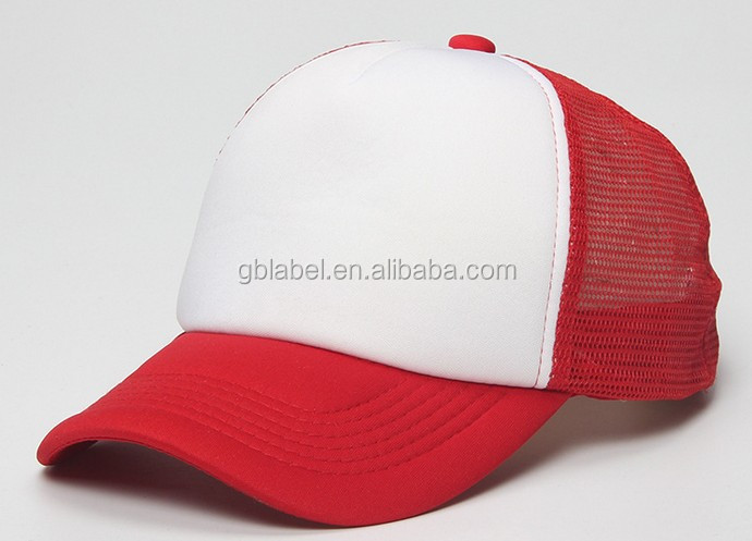 cheap wholesale short bill foam plain trucker cap mesh <strong>hat</strong> trucker <strong>hats</strong>