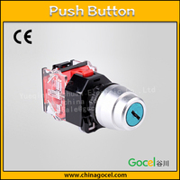 22mm with key 3 position full self-reset screw terminal touch push button switch S0-DY-20Y/33
