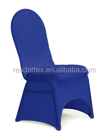 Blue Spandex Material China Cheap Fitted Chair Cover