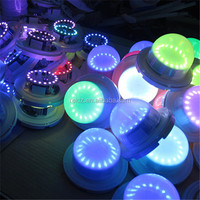 Small chargeable battery Operated 16 colors changing mini led lights