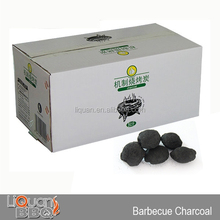 5KG Barbecue Charcoal Briquette, BBQ Portable Charcoal, LIQUAN Brands Of Charcoal