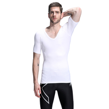 2017 Mens Corset Slim Vest UnderWear for Men Fat Burning