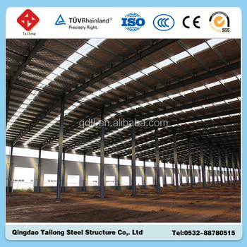 2015 prefab chicken broiler house design for sale