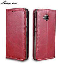 "For Microsoft Lumia 650 Case Flip Wallet Leather Cover For Microsoft Nokia Lumia 650 5.0"" High-Grade Business Phone Bags JR0"