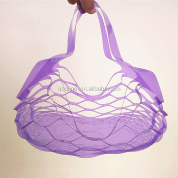 Soft PVC Fruit Plastic Bag