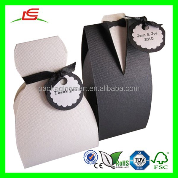 D221 Bride and Groom Box Foldable Printing Box Wedding Favors