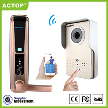 Actop new doorbell wifi for apartments photo video door entry security door entry video security wifi camera