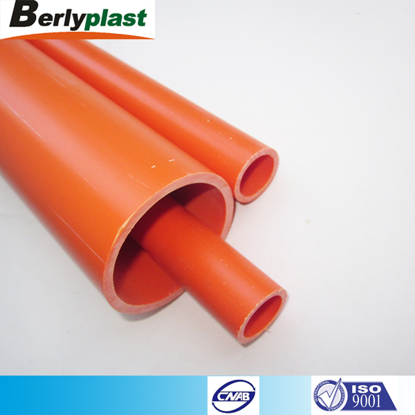 HD High safety pvc plastic electrical conduit pipe for wrie