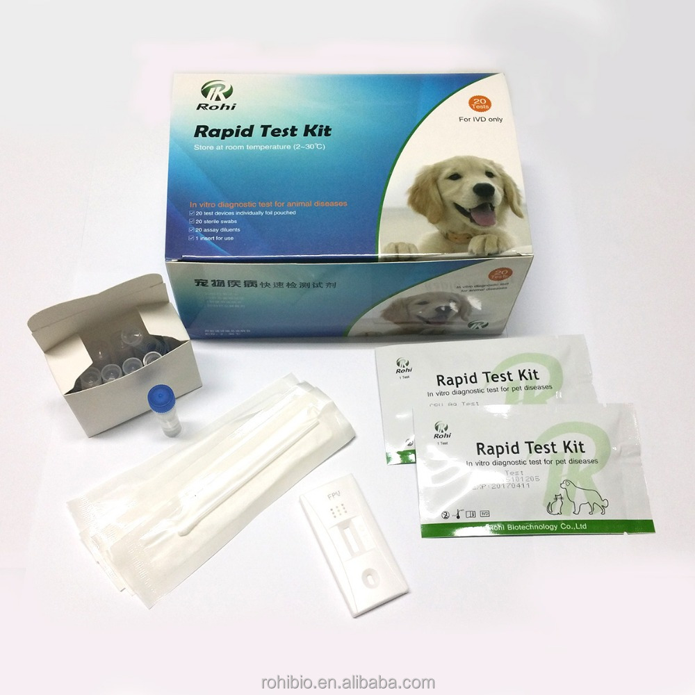 Hot sale rapid heartworm test kit/heartworm diagnostic test for dogs and catss