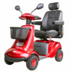 Safe Comfortable Outdoor Handicapped 4 Wheel Electric Scooter for Elderly