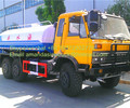 Military trucks cummins diesel engine tanks used for water transport 21000L water sprinkler