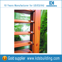 High quality Aluminium and Wood window Shutter