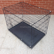 Dog Cage Wholesale ,Black Dog Crate with Plastic Pallet
