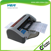 A4 Size Full automatic buisness cards slitter/cutter