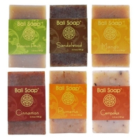 Natural Bar Soap, 6pc Set, 3.5 Oz Each