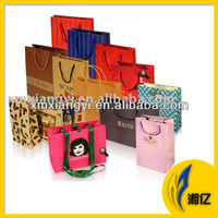 Gloss Laminated Paper Carrier Bags with Rope Handle