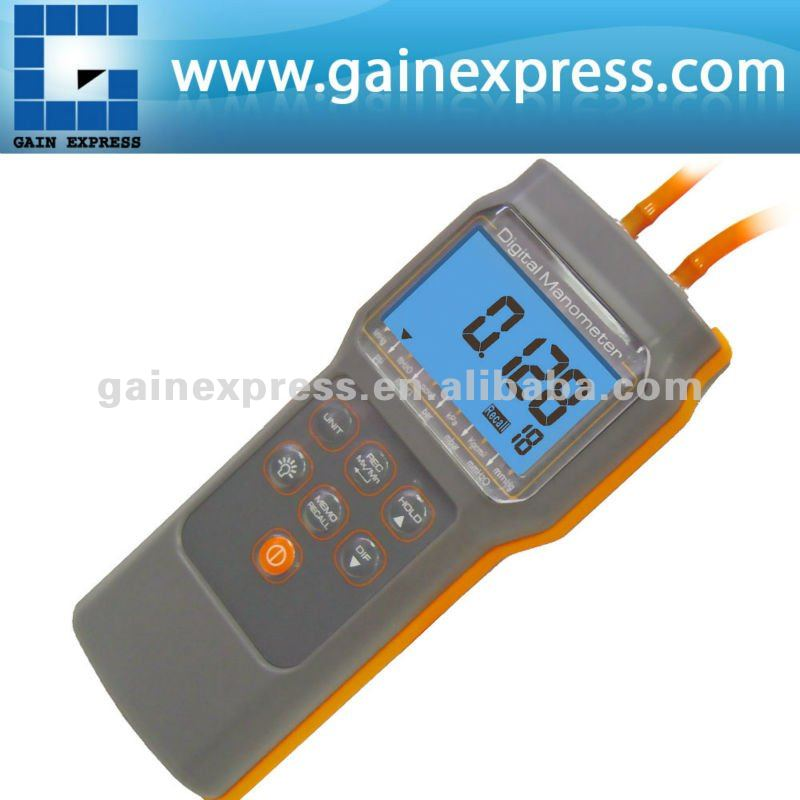 Hand held Economic Digital Manometer with 11 Measuring Units
