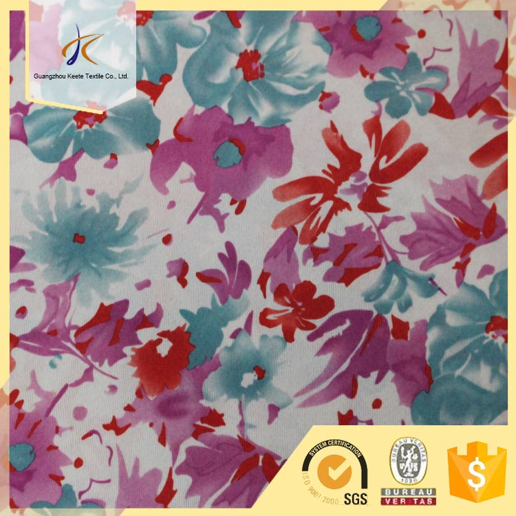 Factory OEM service cheap price custom woven weed printed cotton fabric